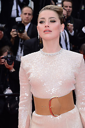May 15, 2019 - WORLD RIGHTS..Cannes, France, 15.05.2019, 72th Cannes Film Festival in Cannes. The 72th edition of the film festival will run from May 14 to May 25. ..''Les Miserables'' Red Carpet ..NZ. Amber Heard ..Fot. Radoslaw Nawrocki/FORUM (FRANCE - Tags: ENTERTAINMENT; RED CARPET) (Credit Image: © FORUM via ZUMA Press)