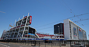 General outside view of the Levi's Stadium before the AON Tour 2017 match between Real Madrid and Manchester United at the Levi's Stadium, Santa Clara, USA on 23 July 2017.