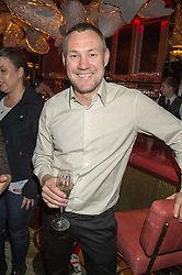 Singer DAVID GRAY at the launch of the new Matchless Star Wars collection at Sexy Fish, Berkeley Square, London on 4th November 2015.