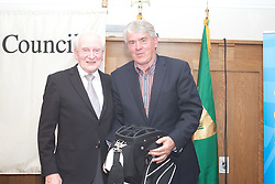 The Ireland-U.S. Council.Golf Day in Ireland...Friday, August 31, 2012 at Dun Laoghaire Golf Club, Enniskerry, County Wicklow, Ireland, Sponsored by United...Golf Bag..Winner ;.Roddy Feely and Harry Sheridan ..