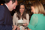 PIPPA MIDDLETON; ALICE BRUDENELL-BRUCE, Vanity Fair Lunch hosted by Graydon Carter. 34 Grosvenor Sq. London. 14 May 2013