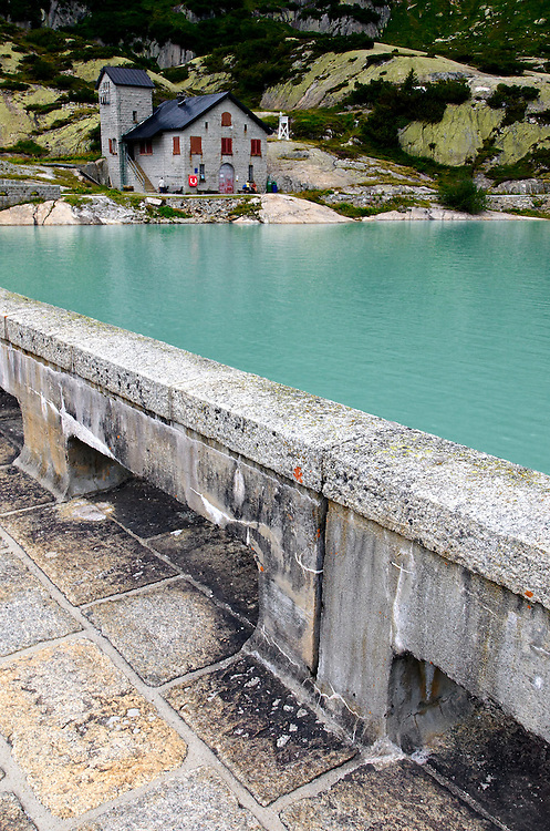 Switzerland - Gelmer lake dam