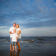 Images from a family beach portrait session with the Allen family at Isle of Palms near Charleston and Sullivan's Island, South Carolina.