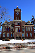 On my way back from the UP, I decided to stop and capture this image of the Dickinson County Courthouse, which is another of those beautiful and well-preserved examples of Upper Peninsula architecture.