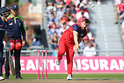 Lancashire Lightnings Steven Croft  during the Vitality T20 Blast North Group match between Lancashire Lightning and Derbyshire Falcons at the Emirates, Old Trafford, Manchester, United Kingdom on 26 August 2019.