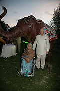 Princess of Jaipur and Evelyn de Rothschild, QUINTESSENTIALLY AND ELEPHANT FAMILY TRUNK SHOW PARTY. SERPENTINE PAVILION, HYDE PARK. 16 SEPTEMBER 2007. -DO NOT ARCHIVE-© Copyright Photograph by Dafydd Jones. 248 Clapham Rd. London SW9 0PZ. Tel 0207 820 0771. www.dafjones.com.