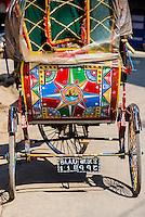Bicycle rickshaws, Kathmandu, Nepal.