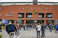 BREDA - NAC Breda - Roda JC , Rat Verlegh stadion , Voetbal , Finale play-offs , seizoen 2014/2105 , 31-05-2015 , Sfeer zat er voor de wedstrijd nog goed in