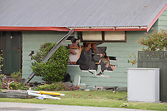 Tauranga-Driver is dead  after crashing into house on Otumoetai Road