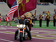 Texas State football team couldn't answer a late fourth-quarter touchdown as the Bobcats fell 33-30 in their final 2017 home game at Bobcat Stadium on Saturday, Nov. 11.  Bobcat's QB Damian Williams, who was playing in his final home game, threw for over 300 yards for the 2nd straight week with a career high three touchdowns.