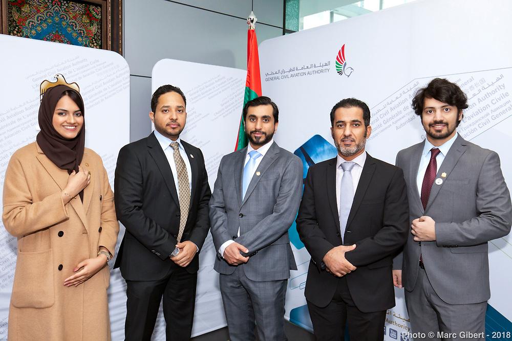 UAE signature at OACI -  OACI / Montreal / Canada / 2018-10-16, © Photo Marc Gibert / adecom.ca