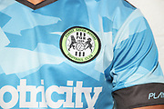 during the official team photocall for Forest Green Rovers at the New Lawn, Forest Green, United Kingdom on 29 July 2019.