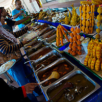 Lunch at Pantai Baru Buruk, Kuala Terengganu, Terengganu, Malaysia.
