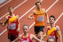 05-03-2017  SRB: European Athletics Championships indoor day 3, Belgrade<br /> Thijmen Kupers is er niet in geslaagd op de slotdag van de Europese indoorkampioenschappen in Belgrado de Nederlandse medaillevangst te verdubbelen. De nummer drie van de EK indoor in 2015 kwam in de finale van de 800 meter niet verder dan de vijfde plaats: 1.50,47.