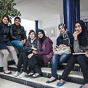 Istituto Tecnico e commerciel di Bizerte a 60 km da Tunisi. Dopo la