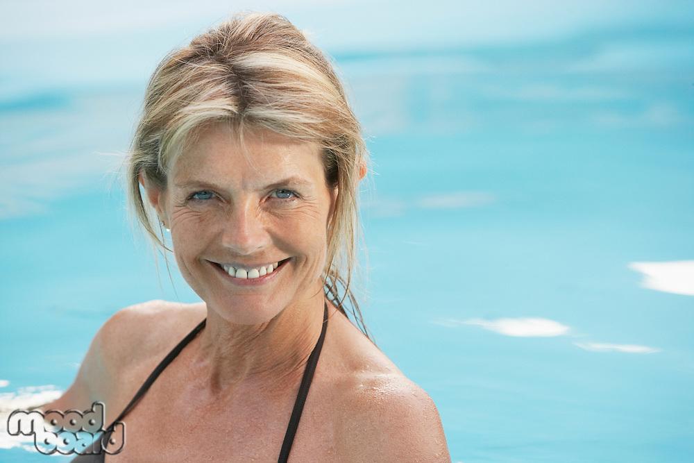 Senior Woman in Swimming Pool