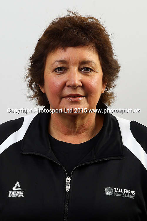 Gail McLauchlan, Manager, New Zealand Tall Ferns, Womens National Basketball Team Headshots. Bruce Pullman Lodge, Auckland. 17 July 2015. Copyright Photo: William Booth / www.photosport.nz
