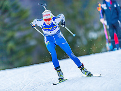 15.01.2020, Chiemgau Arena, Ruhpolding, GER, IBU Weltcup Biathlon, Sprint, Damen, im Bild Mari Eder (FIN) // Mari Eder of Finland during the women sprint competition of BMW IBU Biathlon World Cup at the Chiemgau Arena in Ruhpolding, Germany on 2020/01/15. EXPA Pictures © 2020, PhotoCredit: EXPA/ Stefan Adelsberger