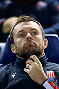 Nathan Jones Manager / Head Coach of Stoke City during the EFL Sky Bet Championship match between Sheffield Wednesday and Stoke City at Hillsborough, Sheffield, England on 22 October 2019.
