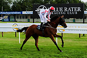 "Twenty Years On ridden by Dane O'Neill and trained by Richard Hughes in the Play ""Four From The Top"" At Valuerater.Co.Uk Handicap (Bath Summer Stayers' Series Qualifier) (Class 6) race. - Ryan Hiscott/JMP - 07/08/2019 - PR - Bath Racecourse - Bath, England - Race Meeting at Bath Racecourse"