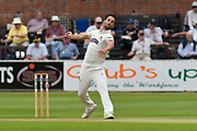Lewis Gregory of Somerset bowling during the Specsavers County Champ Div 1 match between Somerset County Cricket Club and Nottinghamshire County Cricket Club at the Cooper Associates County Ground, Taunton, United Kingdom on 10 June 2018. Picture by Graham Hunt.