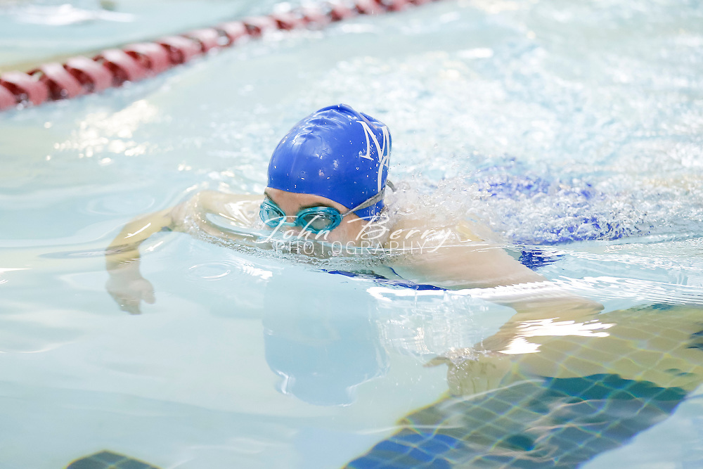 January 17, 2015.  <br /> MCHS Swim vs Clarke