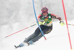 GAGNONMarie-Michele of Canada competes during 1st Run of 50th Golden Fox Audi Alpine FIS Ski World Cup Ladies Slalom, on February 2, 2014 in Podkoren, Kranjska Gora, Slovenia. (Photo By Matic Klansek Velej / Sportida.com)