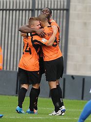 Barnet Celebrate Sam Hoskins Goal, Barnet v Eastleigh, Vanarama Conference, Saturday 4th October 2014