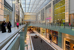 Interior of Dubai Mall in Dubai United Arab emirates