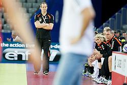 17-12-2014 CRO: EHF EK Nederland - Frankrijk, Zagreb<br /> Henk Groener, head coach of Netherlands during handball match between Netherlands and France at 11th EHF European Women's Handball Championship Hungary-Croatia 2014<br /> <br /> *** USE NETHERLANDS ONLY ***