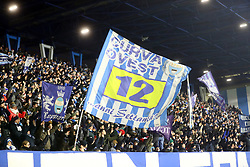 """Foto LaPresse/Filippo Rubin<br /> 26/12/2018 Ferrara (Italia)<br /> Sport Calcio<br /> Spal - Udinese - Campionato di calcio Serie A 2018/2019 - Stadio """"Paolo Mazza""""<br /> Nella foto: I TIFOSI DELLA SPAL<br /> <br /> Photo LaPresse/Filippo Rubin<br /> December 26, 2018 Ferrara (Italy)<br /> Sport Soccer<br /> Spal vs Udinese - Italian Football Championship League A 2018/2019 - """"Paolo Mazza"""" Stadium <br /> In the pic: SPAL SUPPORTERS"""