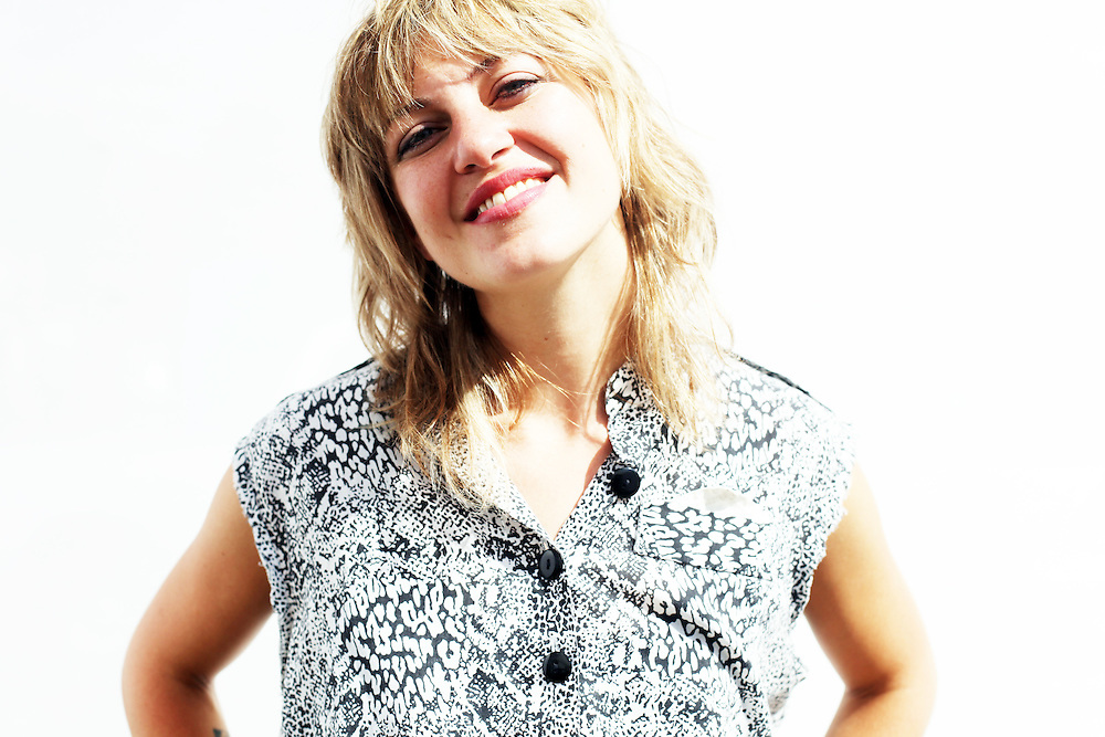 Anais Mitchell. Pickathon 2010. Photographed by Thomas Patterson.