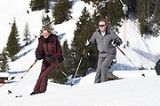 Fotosessie met de koninklijke familie in Lech /// Photoshoot with the Dutch royal family in Lech .<br /> <br /> Op de foto/ On the photo: Koningin Maxima, Koning Willem Alexander///// Queen Maxima, King Willem Alexander