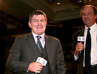 Ricky Hatton and Nick Stewart (auctioneer)