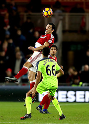 Stewart Downing of Middlesbrough heads the ball - Mandatory by-line: Robbie Stephenson/JMP - 14/12/2016 - FOOTBALL - Riverside Stadium - Middlesbrough, England - Middlesbrough v Liverpool - Premier League