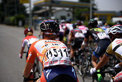 Keeping hydrated was the main priority of the day as temperatures reached the mid-30s at Giro Rosa 2016 - Stage 4. A 98.6 km road race from Costa Volpino to Lovere, Italy on July 5th 2016.