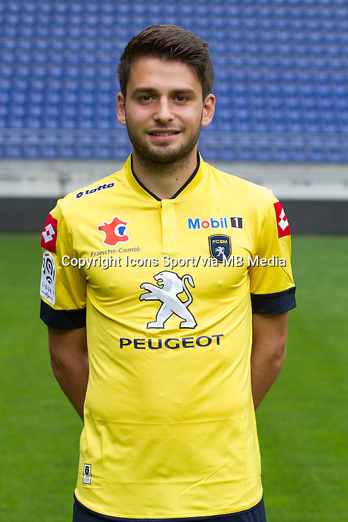 Sanjin Prcic - 19.09.2013 - Photo officielle - Sochaux - Ligue 1<br /> Photo : Steeve Constanty / Icon Sport