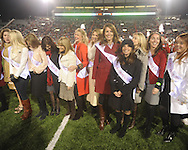 Former Ole MIss Homecoming Queens were recognized at halftime vs. Louisiana-Lafayette in Oxford, Miss. on Saturday, November 6, 2010. Ole Miss won 43-21.