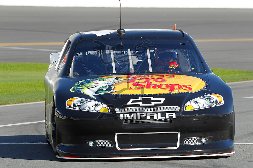 12 January, 2012:  Jamie McMurray (1) brings his Bass Pro Shops McDonald's Chevrolet down the front stretch during open testing for the NASCAR Sprint Cup Series at the Daytona International Speedway in Daytona Beach, FL.