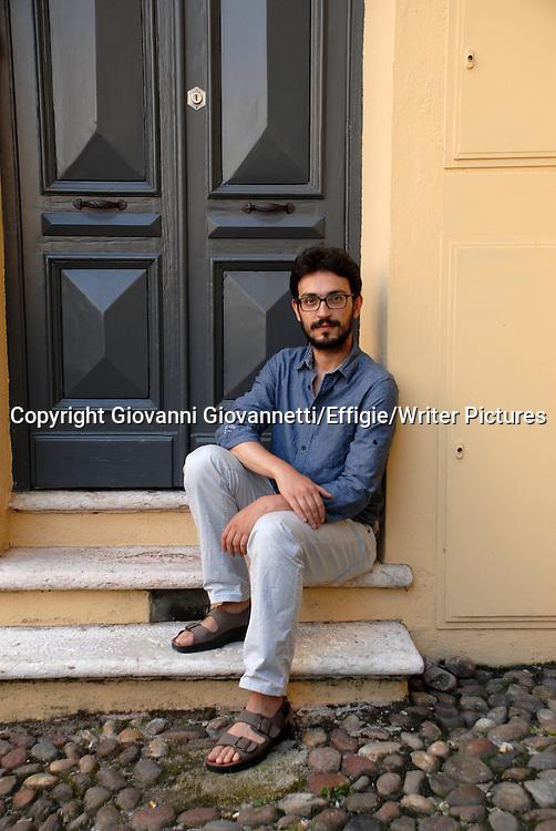 Giorgio Fontana, Festivaletteratura Mantova <br /> 07 September 2014<br /> <br /> Photograph by Giovanni Giovannetti/Effigie/Writer Pictures <br /> <br /> NO ITALY, NO AGENCY SALES