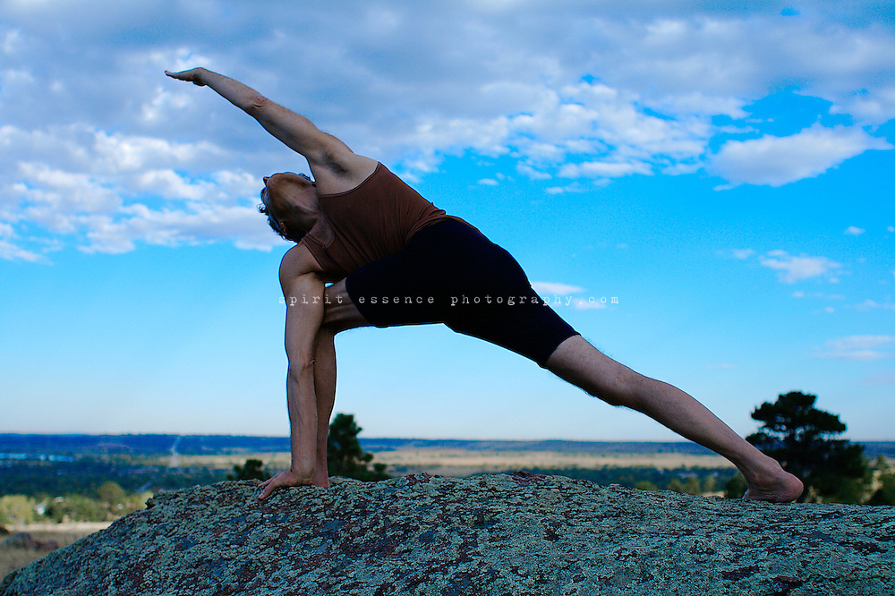 Richard Freeman in asana yoga practice