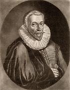 Jan Gruter (Gruytere, Gruterus) (1560-1627). Belgian-born classical scholar. Held various professorships  including at Wittenberg and Heidelberg universities. Mezzotint