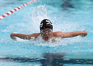 Matt Peng, 11, competes in the boys 11-12 50 yard Butterfly event during the annual All City Competitive Swim Meet at Cherry Hill Aquatic Center in Cedar Rapids on Saturday, July 23, 2011. Swimmers ages 4 to 17 years old from all over the city competed in 74 events.