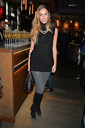 AMBER LE BON at the launch of Korean restaurant Jinjuu with chef Judy Joo at 15 Kingley Street, London on 22nd January 2015.