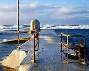 The Swimmers' Towels, Merewether Ocean Baths, Newcastle, Australia.