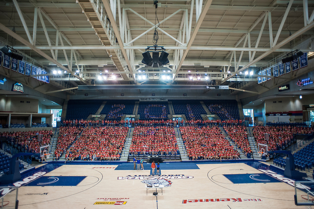 Back to School Orientation weekend at Gonzaga University. (Photo by Austin Ilg)