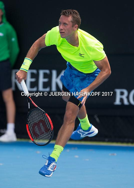 PHILIPP KOHLSCHREIBER (GER)<br /> <br /> Australian Open 2017 -  Melbourne  Park - Melbourne - Victoria - Australia  - 17/01/2017.