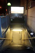 An unidentified male was struck and killed by a south-bound #6 train at apprx 920 PM on August 20, 2009