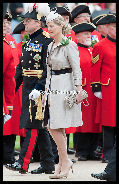 Sophie, Countess of Wessex  at the Chelsea Pensioner's Founder's Day Parade in London, Thursday, 7th June 2012. Photo by: i-Images