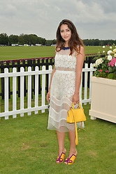 TAMARA KALINIC at the Cartier Queen's Cup Final 2016 held at Guards Polo Club, Smiths Lawn, Windsor Great Park, Egham, Surry on 11th June 2016.